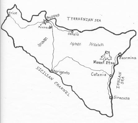 Sicily map 2