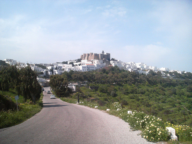 Chora and Patmos Castle