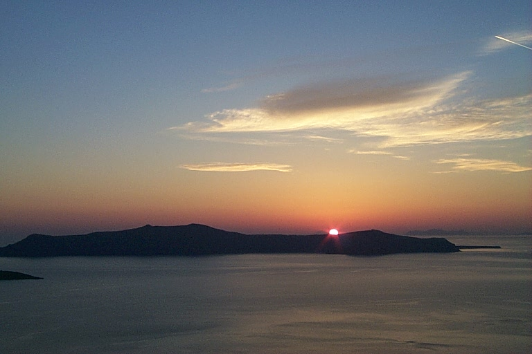 Sunset at Santorini copy