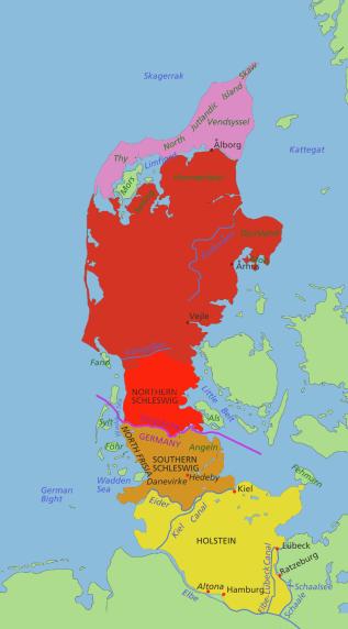 Jutland_Peninsula_map
